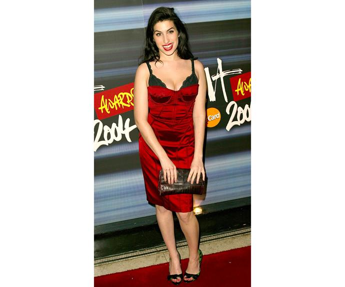 Later in 2004, Amy looked excited as she attended the Brit Awards Nominations ceremony, where she was up for Best Urban Act and British Female Solo Artist. She did not win that year, but in 2007, the year after *Back to Black* was released, she took home the award for British Female Solo Artist.