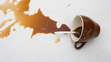 How to: Get rid of coffee stains
