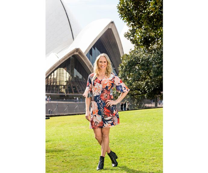 When not playing or training, Laura's been enjoying big city life and taking in the sights.