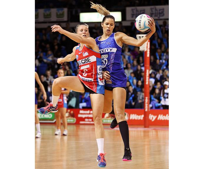 The star midcourter has made an impact with the Swifts and picked up new skills.
