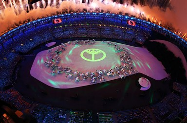 Let the games begin! The Rio Olympics 2016 opening ceremony