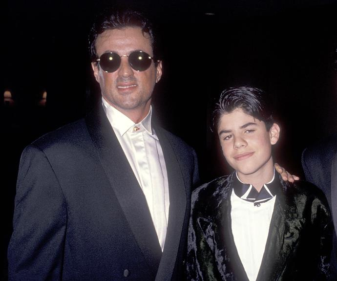 Sage Stallone? fine. Sage Moonblood Stallone? Well I guess his dad is Rambo, so it had to have 'blood' in there somewhere...
