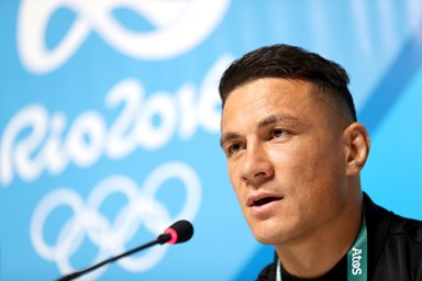 Sonny Bill Williams 'down but not out' after Olympic injury