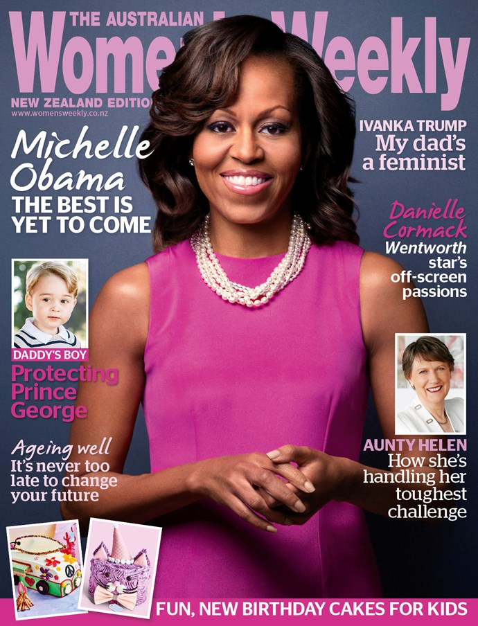Read more about Michelle Obama's next steps in this month's *The Australian Women's Weekly*