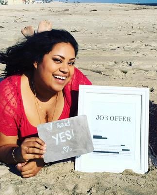 Benita Abraham's job offer
