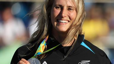 Go behind the scenes with Olympic silver medal winner Luuka Jones