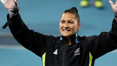 Valerie Adams takes out silver at Rio Olympics
