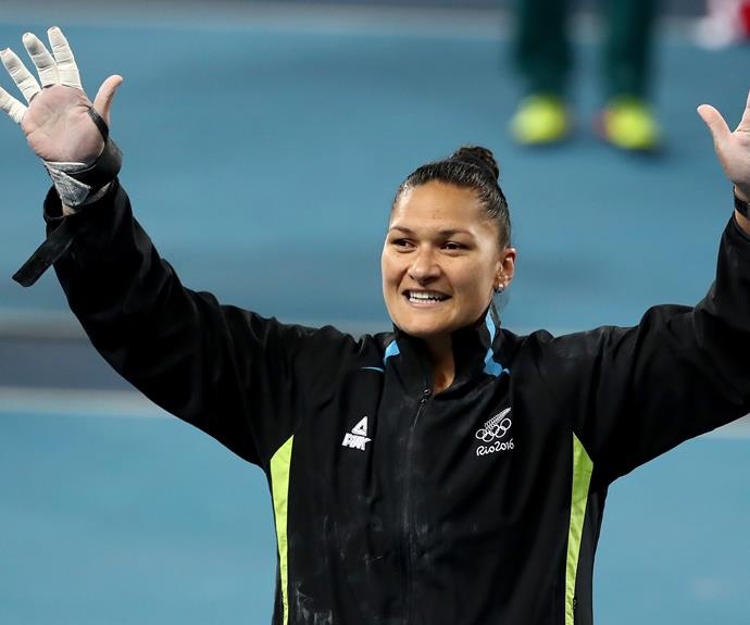 Valerie Adams takes out silver at the Rio Olympics