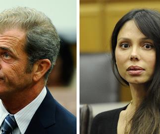 Mel Gibson and ex-partner Oksana Grigorieva
