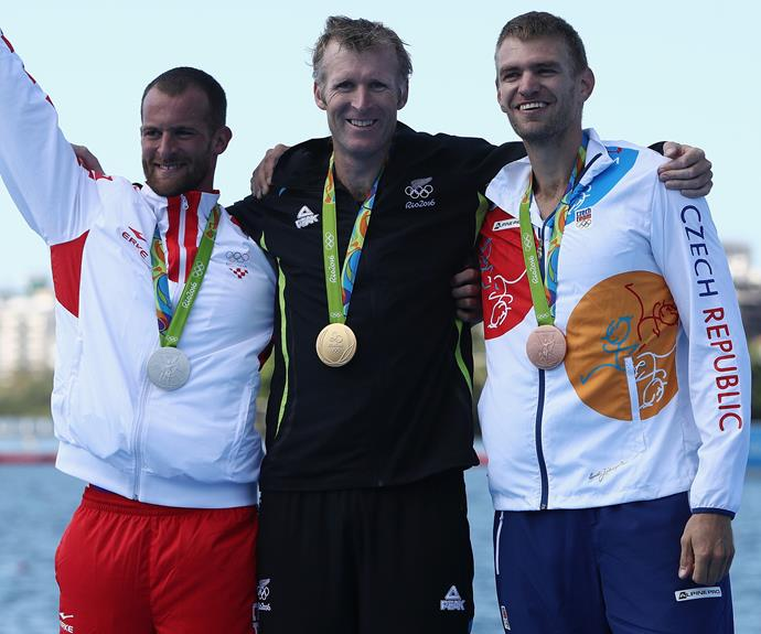 Mahé Drysdale wins Olympic gold in rowing