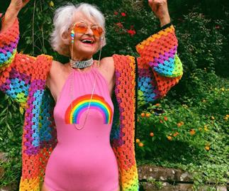 Is this the world's coolest grandmother?
