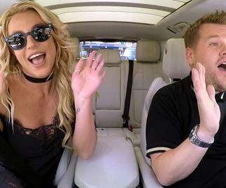 Britney Spears James Corden Carpool Karaoke