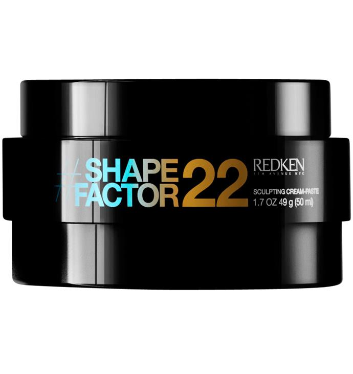 Redken Flex Shape Factor 22, $36: This product is perfect for shorter hairstyles and will prevent any rogue strands from sticking up.