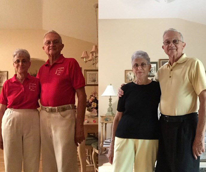 Twinning grandparents go viral