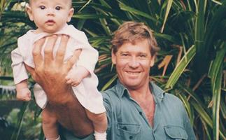 Bindi Irwin posts special message to her dad