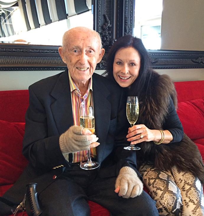 "Anne and Bert had a special Father's Day lunch at his favourite Auckland restaurant. ""I'm always feted on Father's Day, certainly not ignored,"" he says."