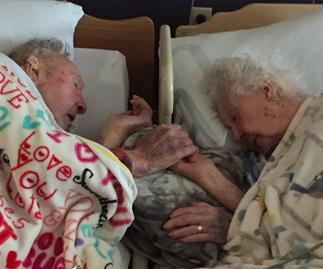 Couple married 77 years
