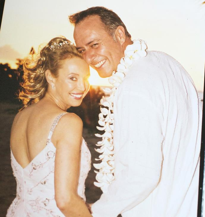 The infomercial queen married the love of her life in a romantic ceremony in Fiji in 2005.