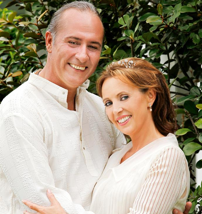 """The loving couple renewed their [vows](http://www.womensweekly.co.nz/latest/real-life/suzanne-paul-ties-the-knot-again-10142 target=""""_blank"""") in 2010."""