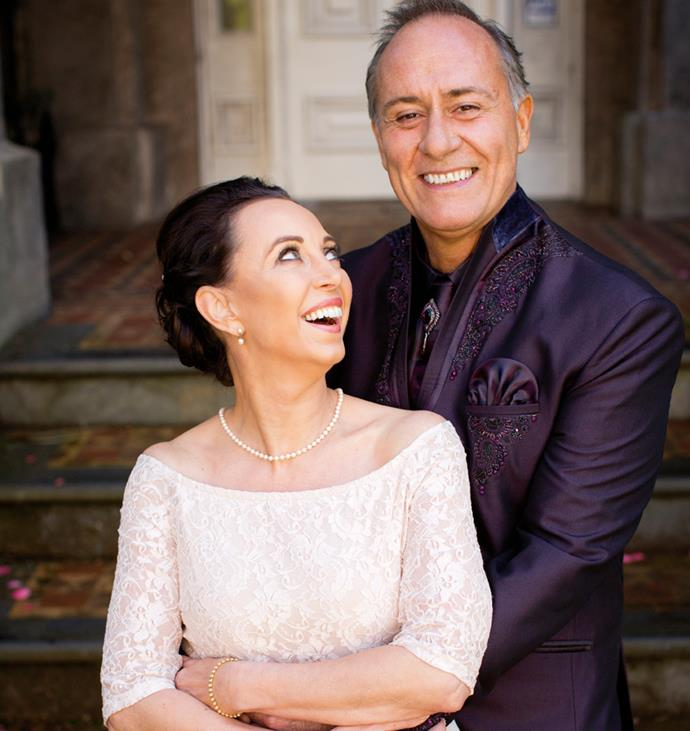Their second renewal of their vows in 2015, in Auckland.