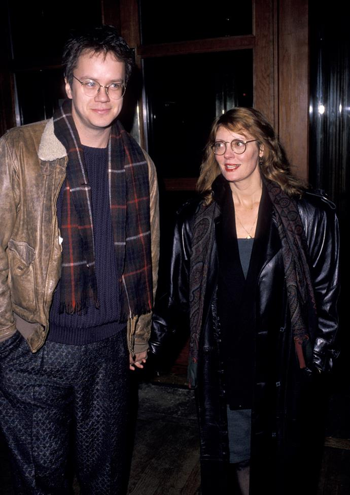 While in college, Susan Tomalin married fellow student Chris Sarandon.They divorced in 1979, but she retained the surname Sarandon as her stage name. She met Tim Robbins in 1988. They split in 2009.