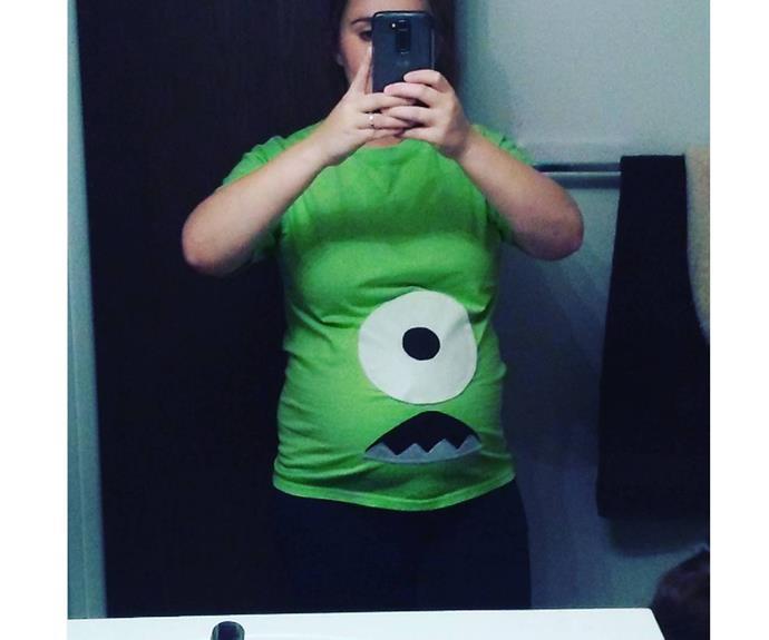 "**Monster** This clever mum got creative before her bub had even arrived.  [danielle_ragan](https://www.instagram.com/p/BK53c2LAztW/|target=""_blank"")"