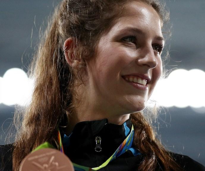 Eliza McCartney at the Rio Olympics