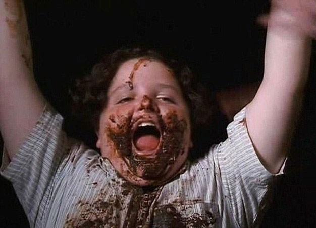 There's no need to eat the whole cake though, a la Bruce Bogtrotter