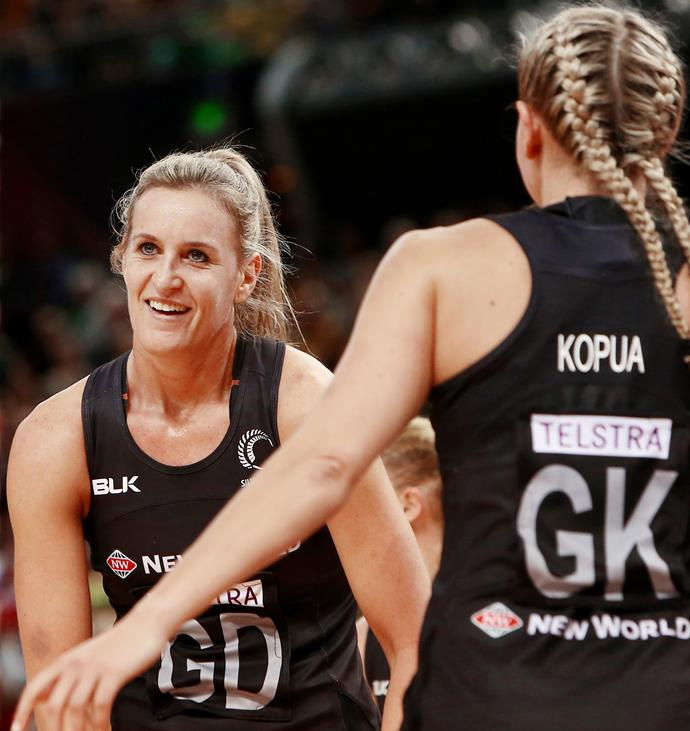Leana played for the Silver Ferns for the past 14 years.