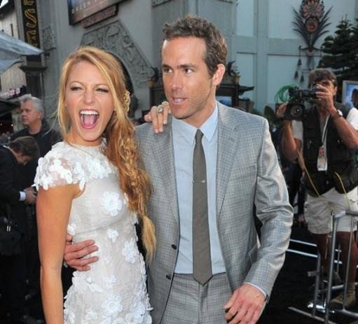 Ryan Reynolds and Blake Lively