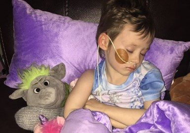 Father shares heartbreaking reality of childhood cancer