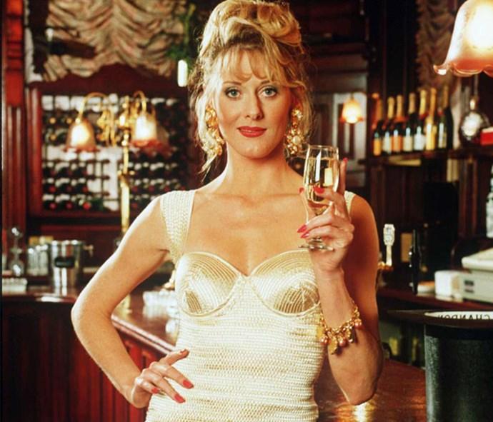 Sarah Lancashire as her *Coronation Street* Raquel Wolstenhulme