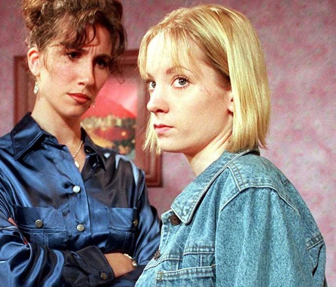 Joanne Froggatt as her *Coronation Street* character Zoe Tattersall