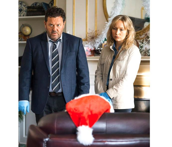 Fern and Neill tackle a new set of cases, involving bad Santas, spiders, horses and clowns, in the new season of popular *The Brokenwood Mysteries*.