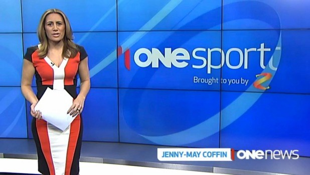 Over the coming years, Jenny May became a popular presenter of the sports news - thanks to her warm demeanour and sporting knowledge.