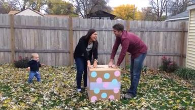 Baby gender reveal party goes very wrong