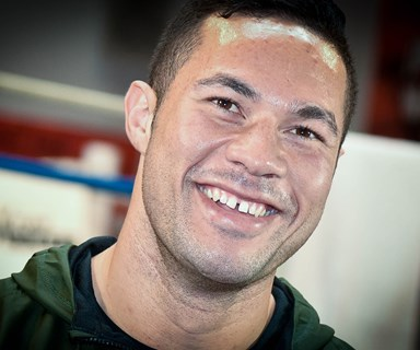 Boxer Joseph Parker celebrates the arrival of a new baby girl
