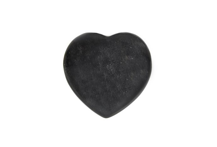 **Obsidian** Jet black obsidian is meant to help you rid yourself of feelings of disharmony, anger and resentment, that may have built up in your body.