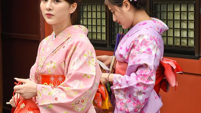 Weekly Travel: Kimonos in Kyoto