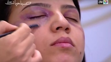 TV station under fire for domestic violence beauty tutorial