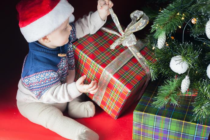 Keep everyone safe this Christmas by planning your decor with baby in mind