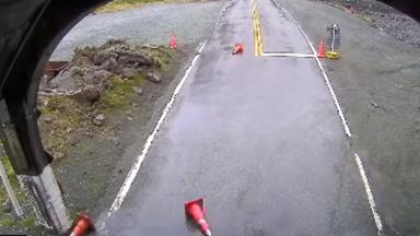 WATCH: Kea caught on film directing traffic