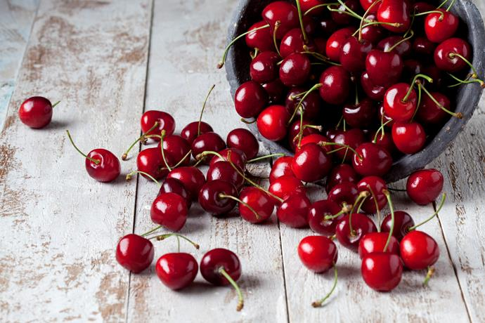 Cherries! If only they would last longer than Christmas time.