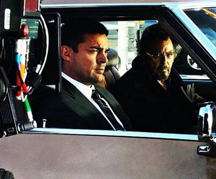 Karl Urban and Al Pacino in their new movie Hangman