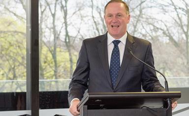John Key steps down as Prime Minister