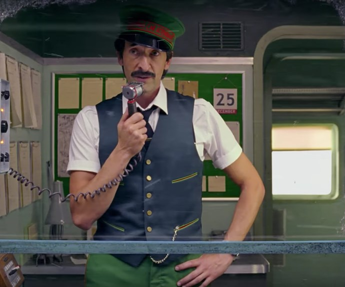 Adrien Brody stars in Wes Anderson's H&M Christmas advert