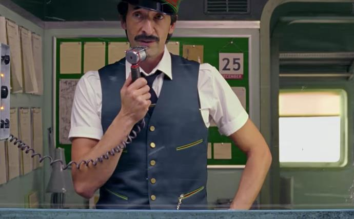 Adrien Brody stars in Wes Anderson's H&M Christmas advert