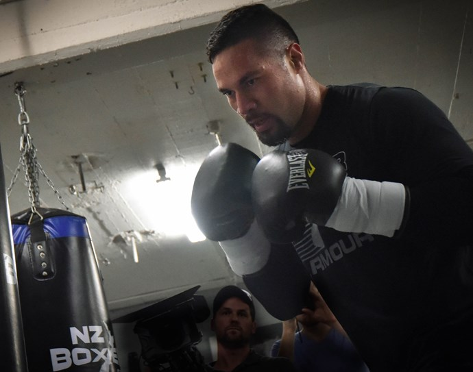 Joseph Parker's relentless training regime kept him focused and sharp. Photo: Getty Images