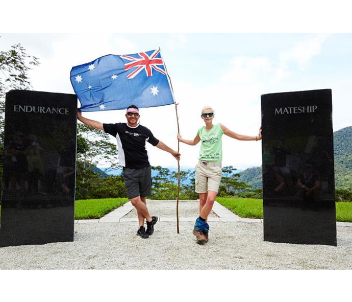 Manu walked the Kokoda Trail for charity in 2011.