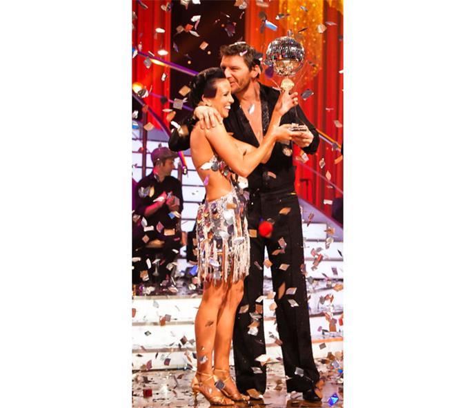 Manu won *Dancing with the Stars*